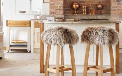 Sheepskin Baa Bar Stools: The perfect perches for your kitchen